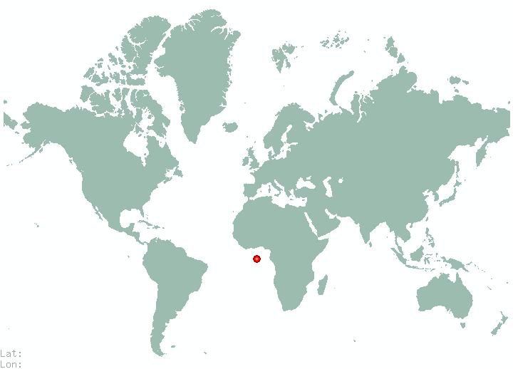 Veld In World Map